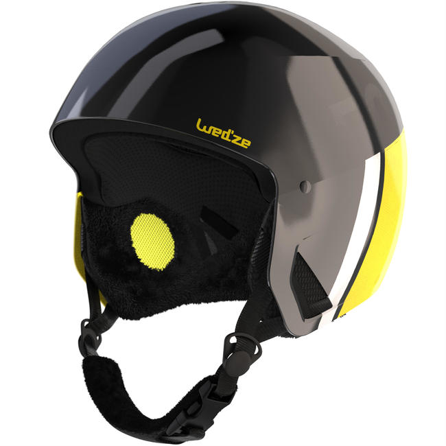 Adult Downhill Ski Helmet HRC500 - Black and Yellow