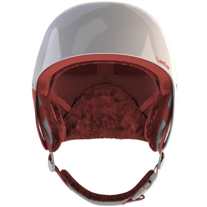 Skihelm H-RC 500 Damen weiß und rosa