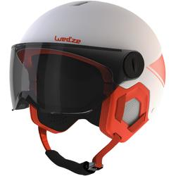 CASQUE DE SKI ENFANT H-KID 550 BLANC ET ORANGE