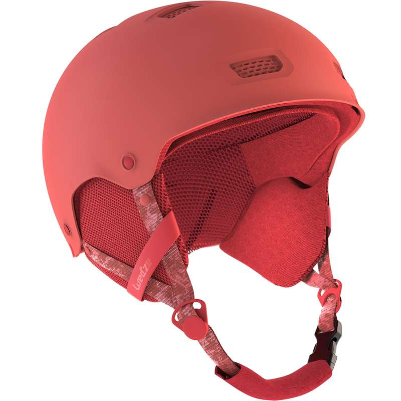 SKI AND SNOWBOARD HELMETS Snowboarding - H-FS 300 Adult/Junior - Coral WEDZE - Snowboarding