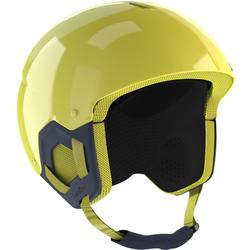 Skihelm Piste Kid 500 Kinder gelb