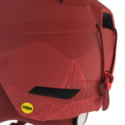 Casco de esquí All Mountain adulto Carv 700 Mips rojo