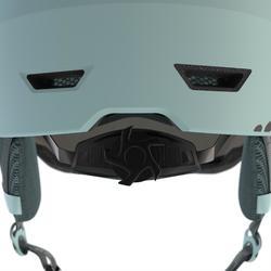 ADULTS' DOWNHILL SKI HELMET WITH VISOR H350 - BLUE