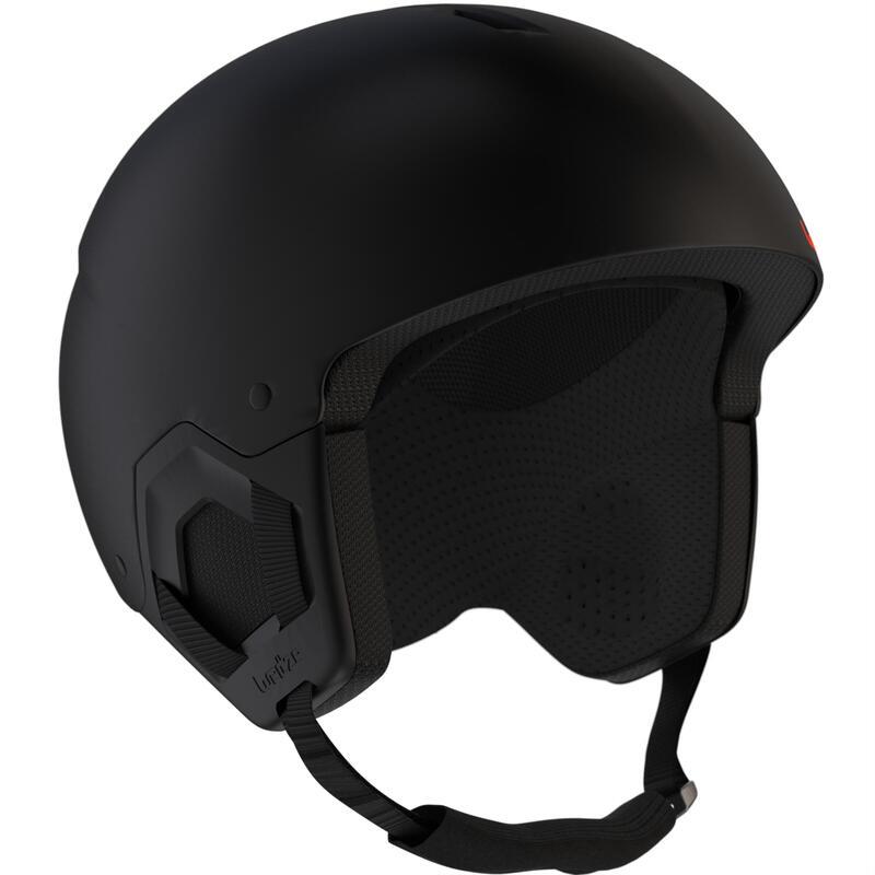 Casco Esquí y Snowboard, Wedze, H-KID 500, Niños, Negro