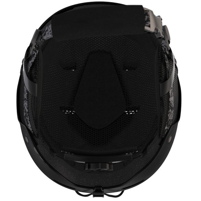Ski-snowboardhelm voor volwassenen en kinderen H-FS 300 zwart