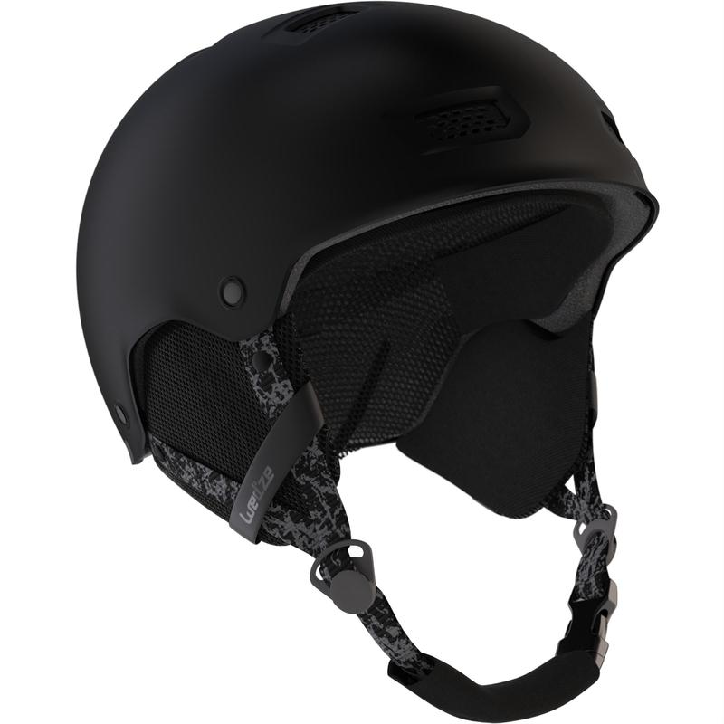 Adult and Junior Ski and Snowboarding Helmet H-FS 300 - Black