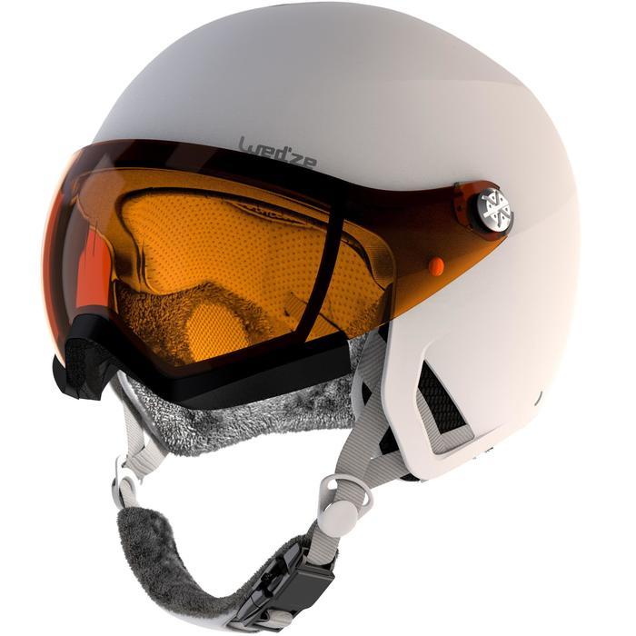 Skihelm H-PST 550 Erwachsene weiß