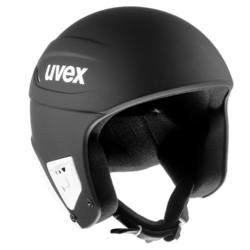 Skihelm UVEX Race+ mat zwart