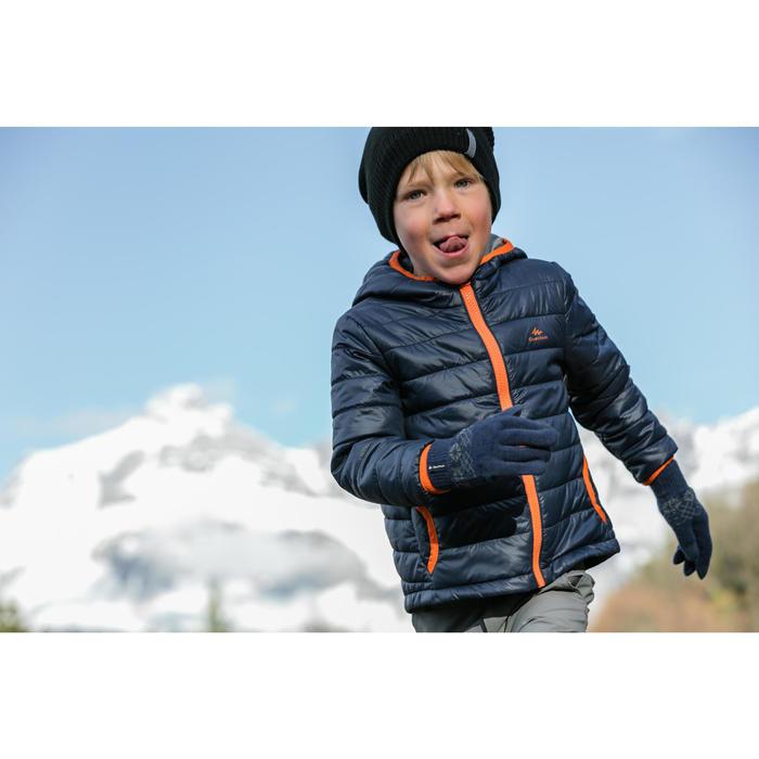 Wattierte Jacke Wandern MH500 Kleinkinder 89–121cm dunkelblau