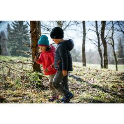 Afritsbroek voor wandelen jongens Hike 500 beige