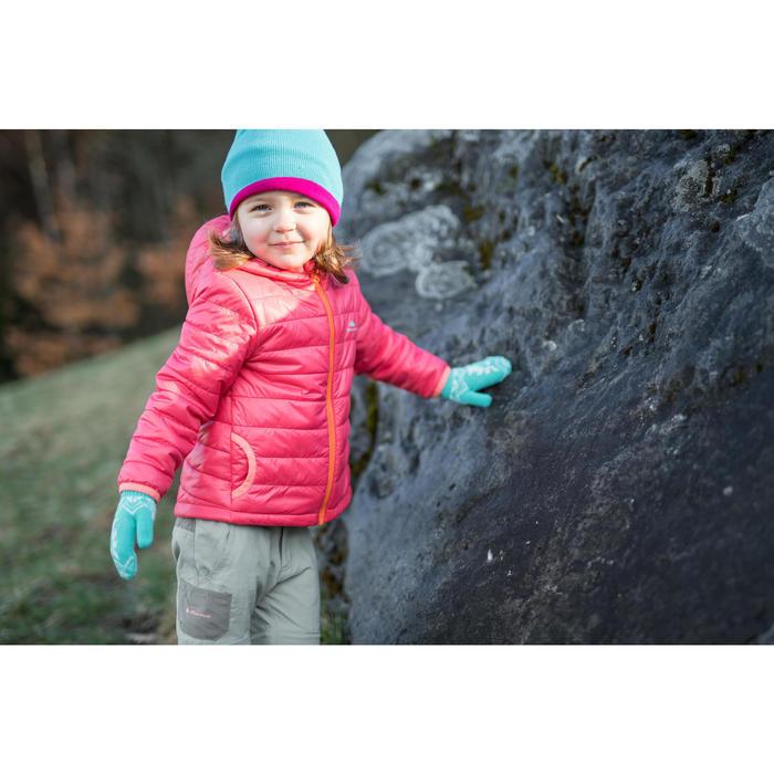 Wattierte Jacke MH Kleinkinder Mädchen rosa