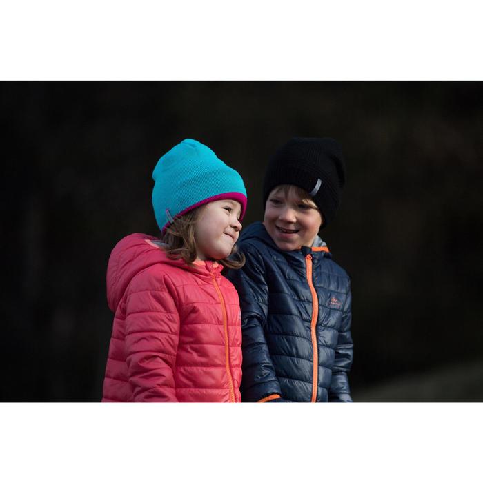 Gewatteerde wandeljas voor kinderen MH marineblauw