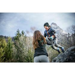 Zip-Off-Wanderhose Hike 900 Kleinkinder Jungen blau