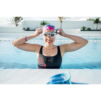 Masque de natation ACTIVE Taille S blanc bleu