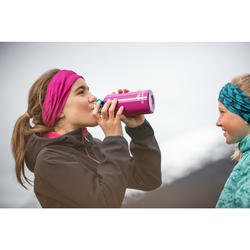 Softshell jas kinderen MH550 roze 7-15 jaar