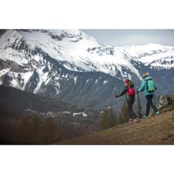 Pantalón de Montaña y Trekking Quechua MH550 Niños Negro