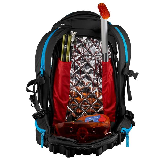 Dragonfly 15/30L Snow Hiking Backpack - Black/Blue