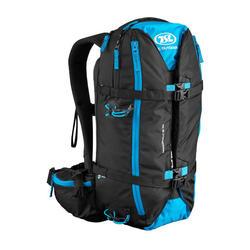 Rucksack mit Schneeschuhhalterung TSL Dragonfly 15/30Liter schwarz/blau