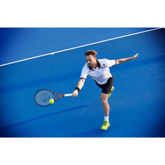 Tennisschoenen voor heren TS990 fluogeel omni zool