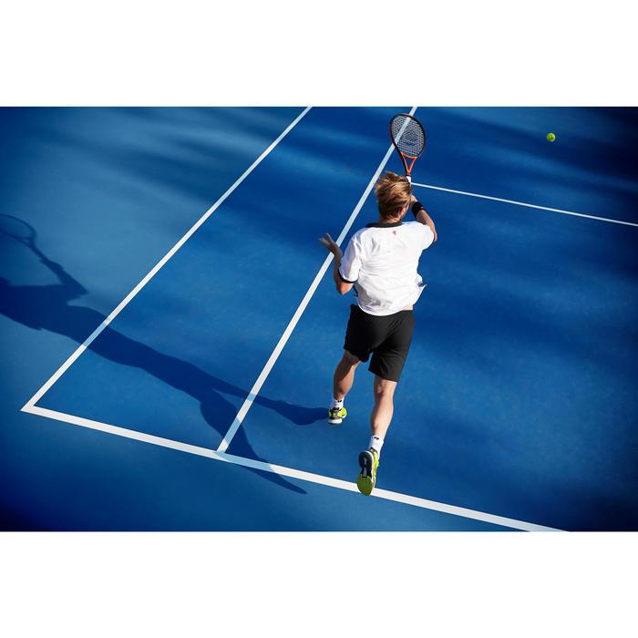 Tennisracket voor volwassenen TR 990 PRO+ zwart/oranje