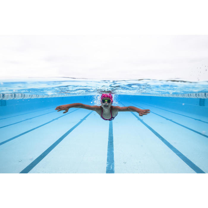 Lunettes de natation XBASE PRINT Taille S ORANGE BLEU