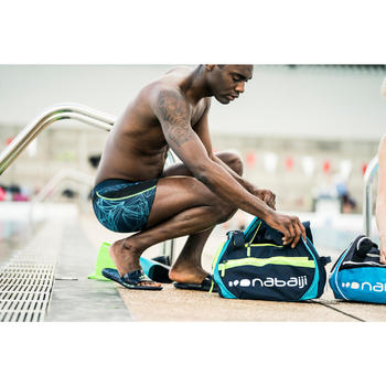 Schwimmtasche 500 30l blau/grün