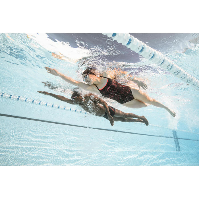 Maillot de bain natation une pièce ultra résistant au chlore femme Jade - 1493853