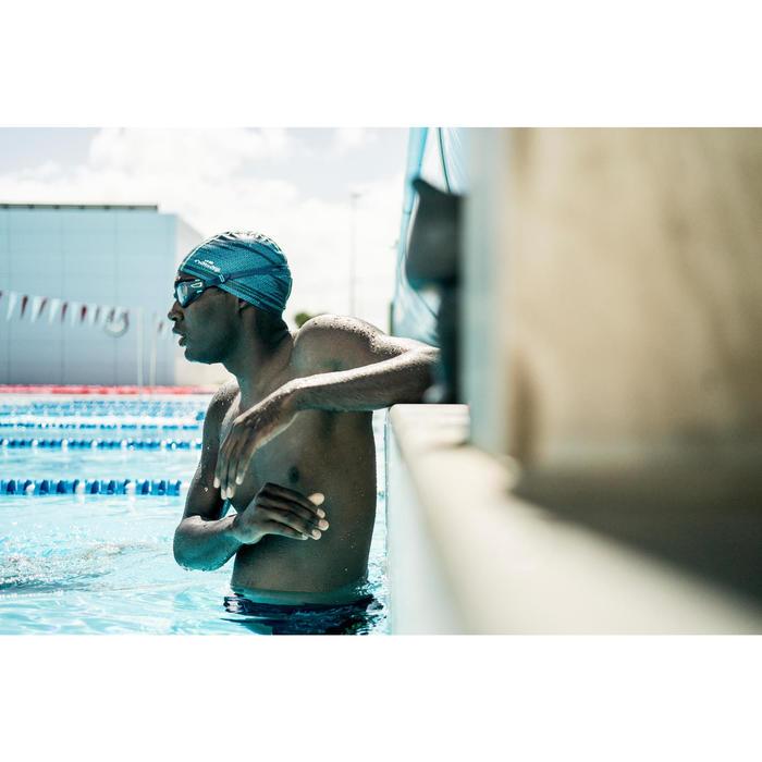 Gafas de natación 500 SPIRIT Talla L Azul cristales claros