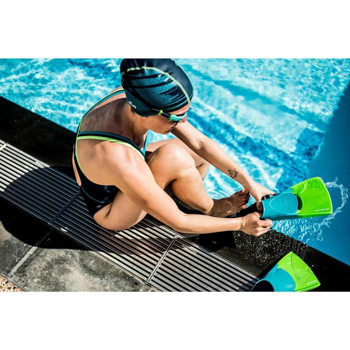 Korte zwemvliezen Silifins blauw/groen