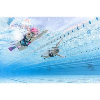 Schwimmbrille getönt Spirit 500 S blau/grün