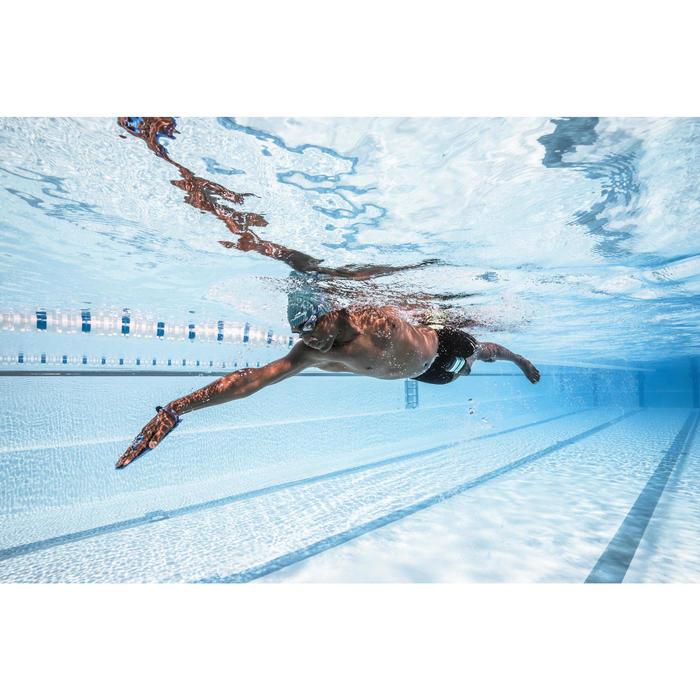 Schwimmpaddles 500 Quick'In M blau