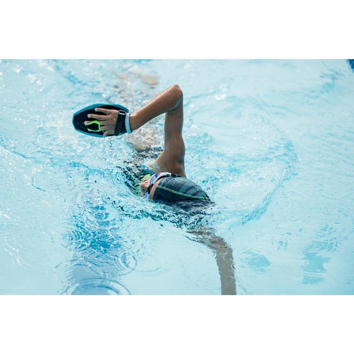 Gafas de natación SPIRIT Talla S negro azul espejo