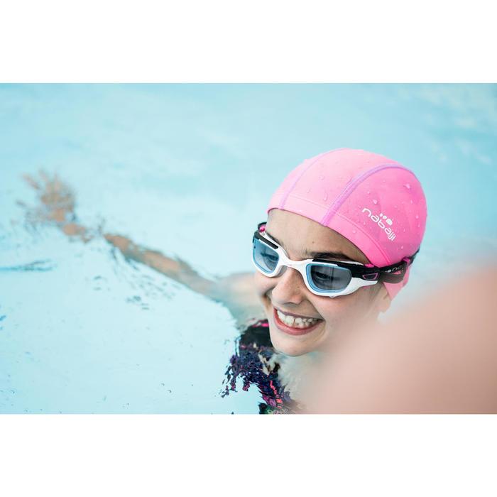 500 SPIRIT泳鏡透明鏡片 S號 白粉紅色