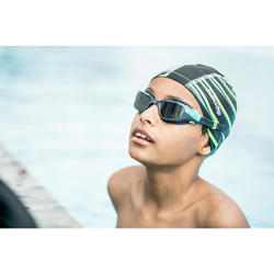 Zwembrilletje 500 Spirit maat S blauw groen getinte glazen