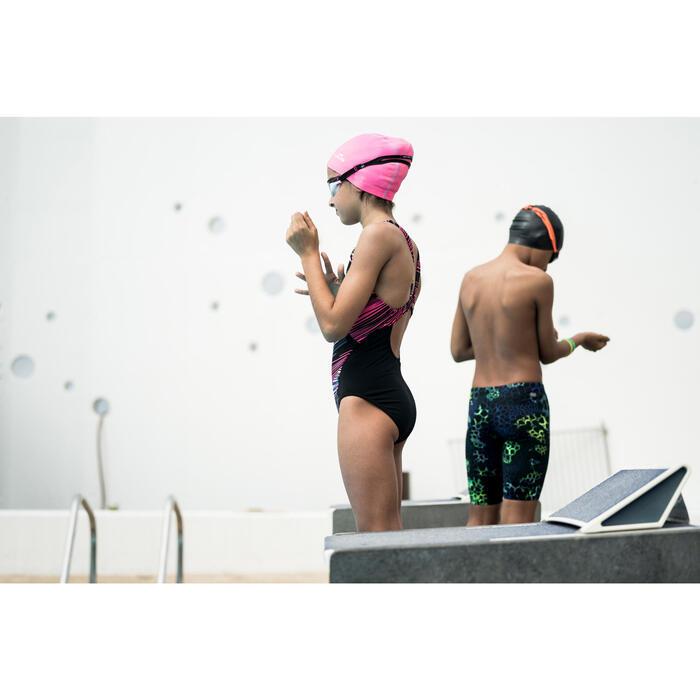 Badeanzug Kamiye Evoi chlorresistent Mädchen schwarz