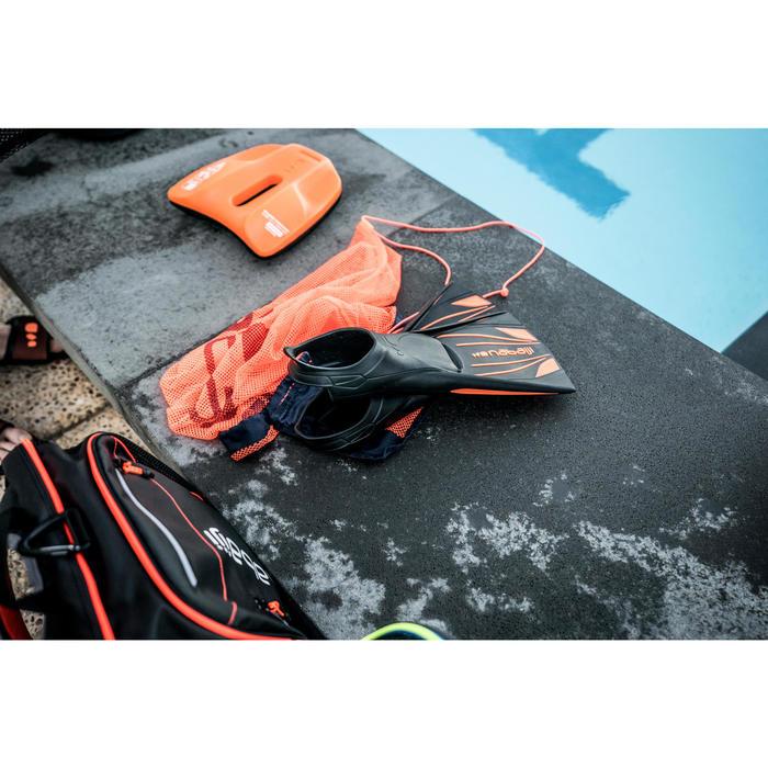Pull Kick Kombination Schwimmbrett/Pull Buoy schwarz/orange