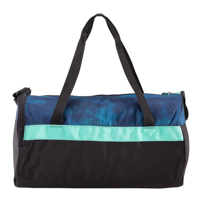 Tas voor fitness en cardiotraining 20 liter groen en zwart