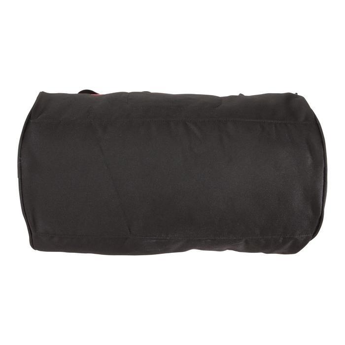 Bolsa fitness cardio-training 20 Litros negro y burdeos