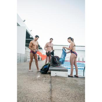TEENSLIPPERS VOOR IN HET ZWEMBAD HEREN TONGA 500 WIT/BLAUW
