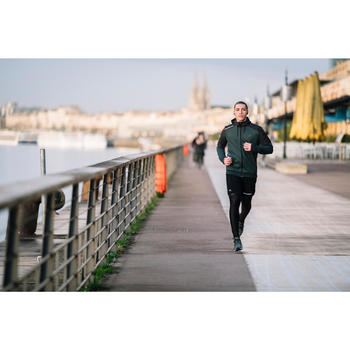 PANTALÓN RUNNING HOMBRE RUN WARM+ VERDE