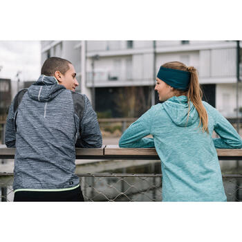 Warme hoofdband voor hardlopen groen