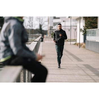 Veste jogging coupe pluie homme RUN RAIN gris