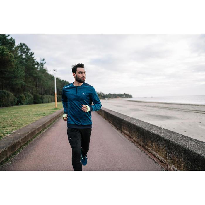 PANTALÓN DE RUNNING HOMBRE RUN WARM+ NEGRO