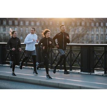 Jack jogging dames Run Warm Night zwart met opdruk