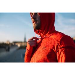 CHAQUETA RUNNING HOMBRE RUN WARM+ ROJO