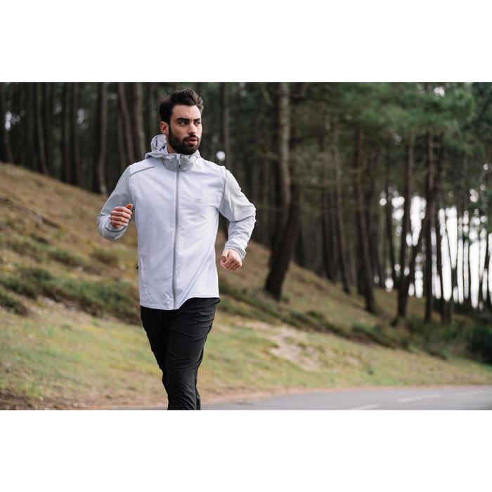 VESTE RUNNING HOMME RUN WIND BLANC