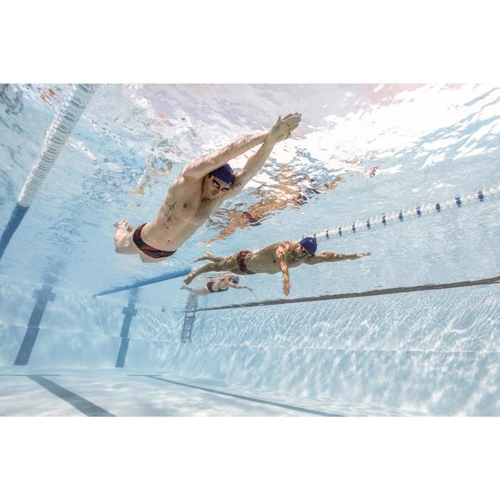 Zwemslip voor heren Slip 550 Side H All Vib blauw - 1494497