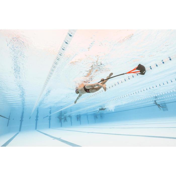Paracaídas Natación Nabaiji 900 Experto Negro/Naranja