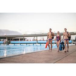 Teenslippers heren Tonga 500 wit/blauw
