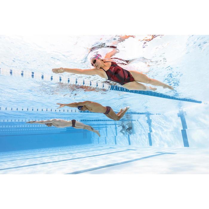 Maillot de bain de natation une pièce femme résistant au chlore Lidia Vib blue